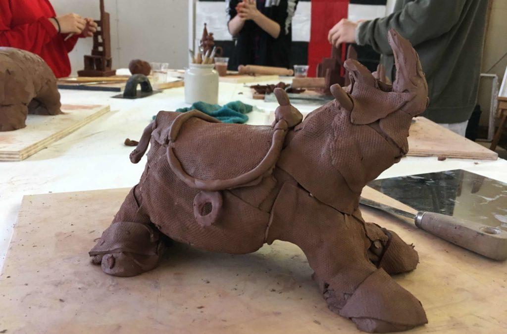 Atelier de modelage - construction