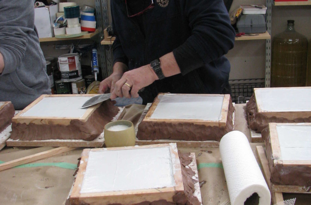 Atelier bas-relief et moulage